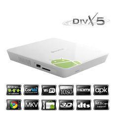 REPRODUCTOR MULTIMEDIA WOXTER ANDROID TV 100 HD WIFI HDMI