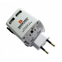 Adaptador de corriente Swiss ST UX Universal